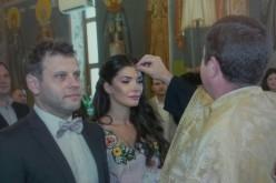 Alina Pușcaș s-a cununat, în week-end, cu medicul Mihai Stoenescu