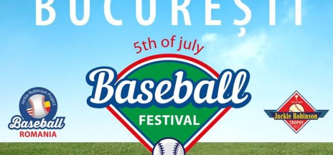 Primul Baseball Festival din România are loc la București în prezența Ambasadorului SUA