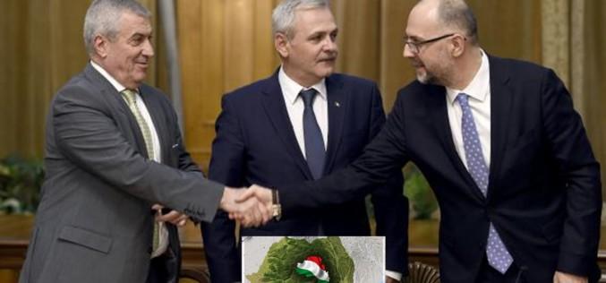 Dragnea a vândut Transilvania ungurilor ca să-l poată demite pe Grindeanu