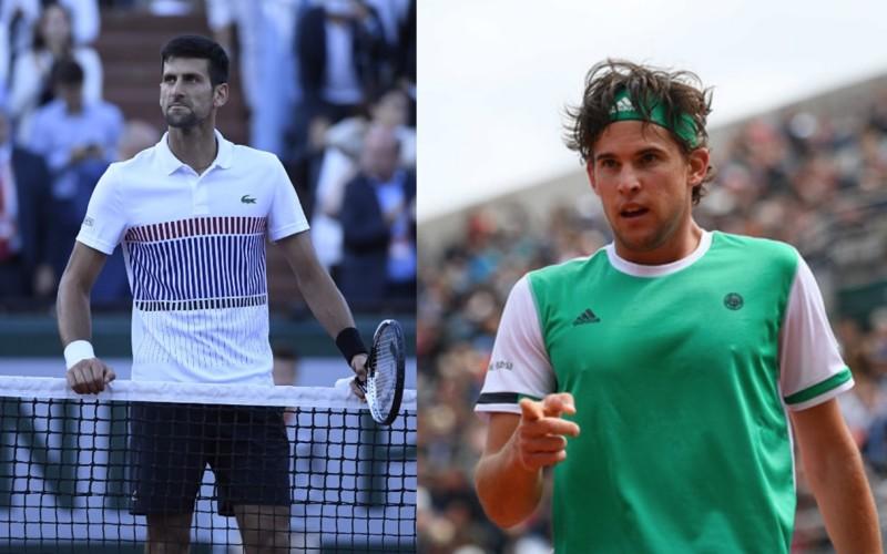 Novak Djokovic, umilit în sferturi la Roland Garros de Dominic Thiem