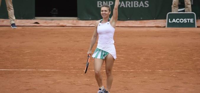 Simona Halep, calificare fabuloasă în sferturi de finală la Roland Garros