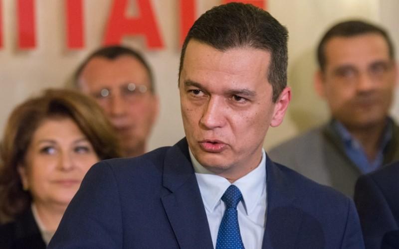Sorin Grindeanu a fost dat afară din Partidul Social Democrat