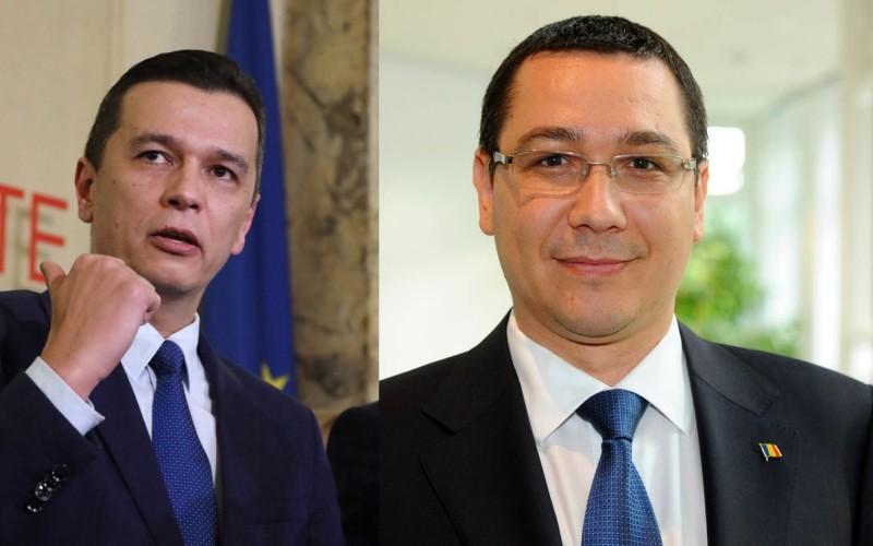 Grindeanu, lovitură dură PSD. L-a numit pe Ponta în funcția de Secretar General al Guvernului