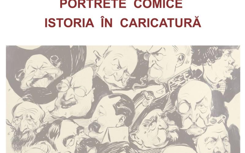 Portrete comice. Istoria în caricatură la Muzeul Național Cotroceni