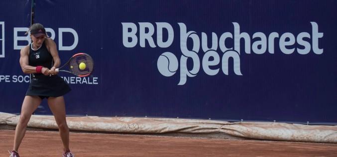 Ana Bogdan, victorie uriaşă la Bucureşti. A eliminat-o pe Anastasija Sevastova, principala favorită a turneului