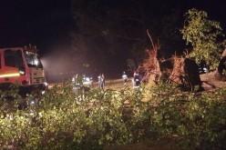 Tragedie în Bihor. Furtuna a făcut prăpăt la Bulz. Plan roşu de intervenţie a salvatorilor