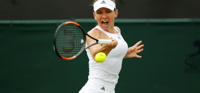 Simona Halep, victorie de senzaţie în primul tur la Wimbledon