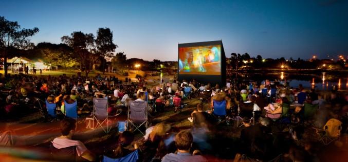 Cinema în aer liber la Opera Comică pentru copii în Bucureşti