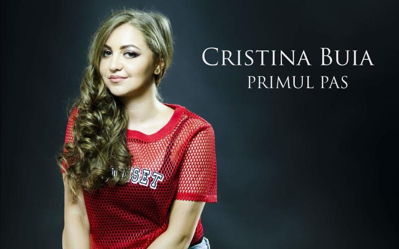 """Cristina Buia face """"Primul pas""""  în muzica românească – VIDEO"""