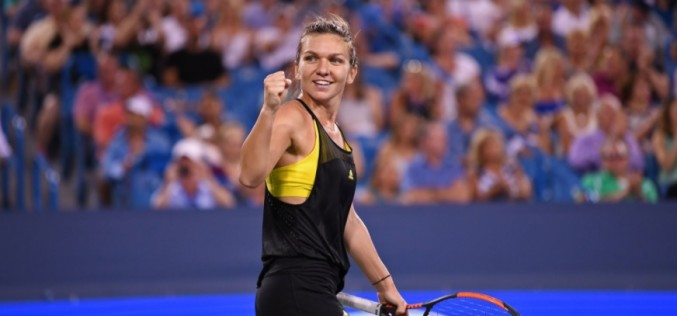 Simona Halep a spulberat-o pe Sloane Stephens. Românca e în finală la Cincinnati şi e la un pas de numărul unu mondial