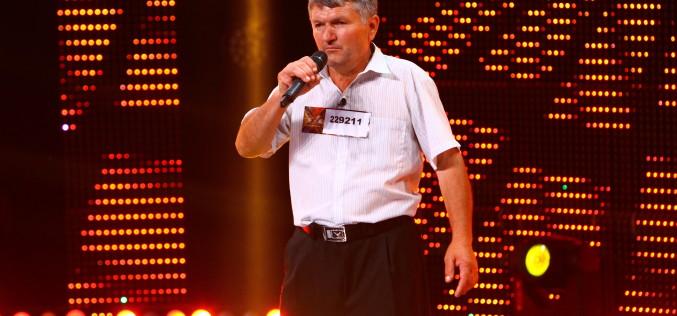 De la taraba din piață, Marian Tănase ajunge superstar pe scena X Factor!