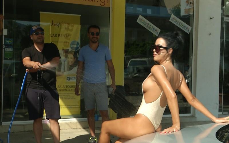 Daniela Crudu a ajuns să spele mașini în Grecia