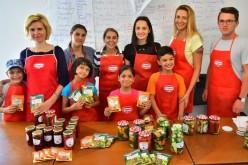 Bucurii de toamnă de la Dr. Oetker pentru copii din organizaţia SOS Satele Copiilor România