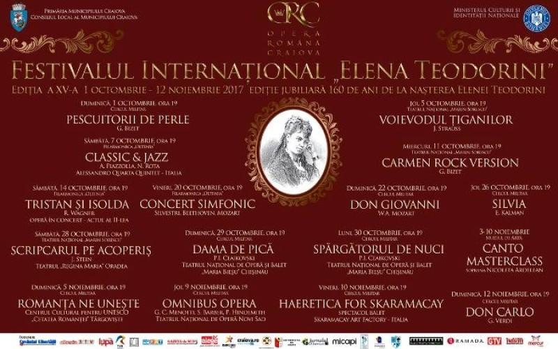Șase săptămâni de sărbătoare a muzicii, la Craiova