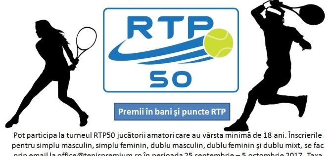 Au început înscrierile pentru al doilea turneu de tenis pentru amatori în circuitul RTP