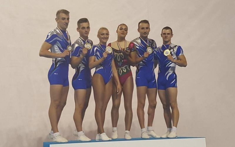 România, aur pe echipe, la Europenele de Gimnastică Aerobică din Italia