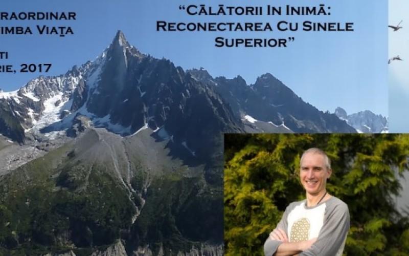 """Seminarul """"Călătorii în Inimă: Reconectarea cu Sinele Superior"""",  desfășurat weekendul acesta la București: un eveniment de succes"""