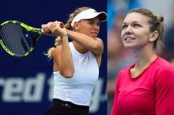 Iată ce mesaj a primit Halep de la Caroline Wozniacki după ce românca s-a accidentat la Doha!