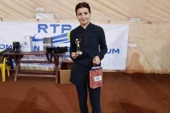 Carmen Necula, victorie în proba feminină la turneul Sport Profit Open Tenis