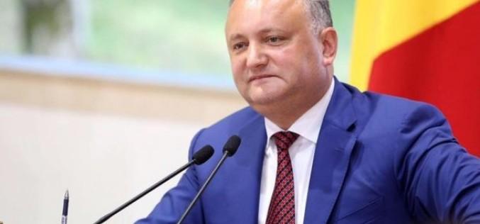 Preşedinetele Republicii Moldova, Igor Dodon, a fost suspendat din funcţie!