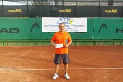 Laurenţiu Ionescu, învingător şi la turneul de tenis, RTP50 – Recent NEWS Tenis Cup 2017!