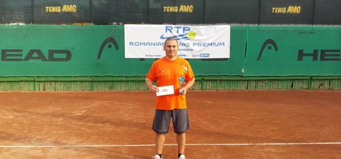 Laurenţiu Ionescu, liderul RTP: Joc tenis din liceu. Nu mă aşteptam să câştig primul turneu în circuitul RTP!