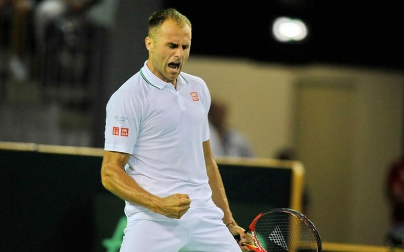 Marius Copil, victorie uriaşă în Elveţia. L-a eliminat pe Marin Cilic, numărul şase mondial