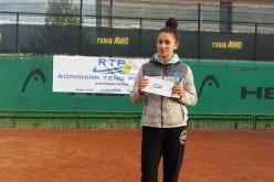 Mihaela Ghioca a cucerit turneul Recent NEWS Tenis Cup 2017