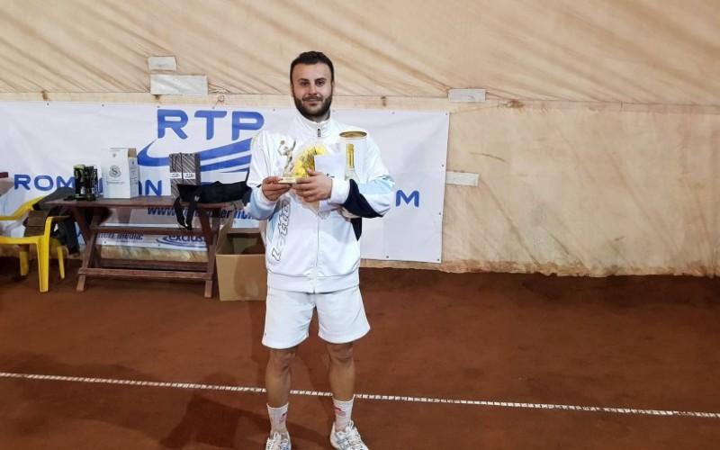 Mihnea Susanu a cucerit turneul de tenis Sport Profit Open Tenis 2017