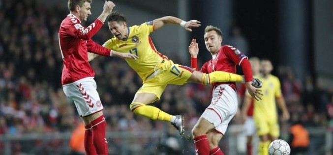 Tricolorii încheie turneul de calificare la Mondiale, cu un egal. România – Danemarca: 1-1