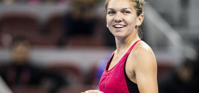 Simona Halep s-a calificat lejer în semifinalele turneului de tenis Shenzhen Open