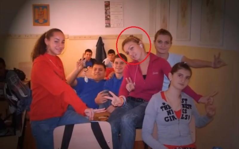 Imagini unice cu Simona Halep la liceu. Iată cum îi spuneau colegii de clasă – VIDEO