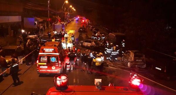 accident rutier gara obor