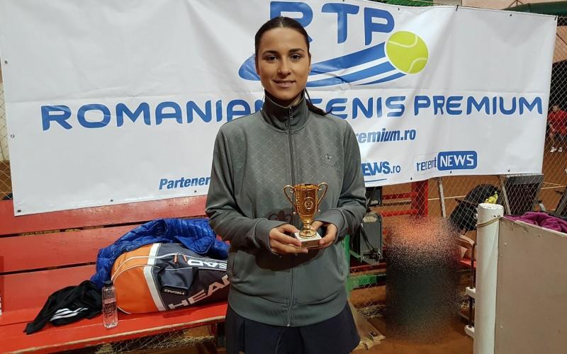 Andreea Avram a cucerit un nou turneu în circuitul RTP. Primul de categorie RTP 100!
