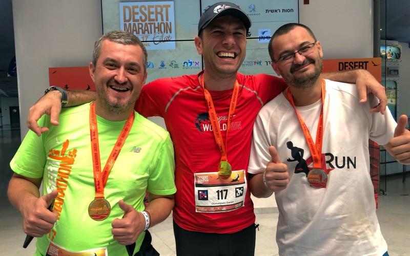 Daniel Osmanovici și-a depășit limitele. A alergat la maratonul din Israel