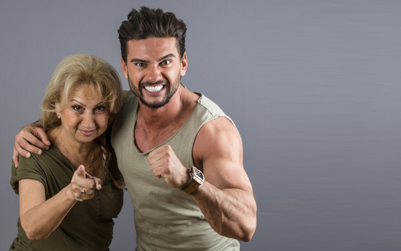 Dorian Popa pleacă împreună cu mama sa în aventura Asia Express, de la Antena 1
