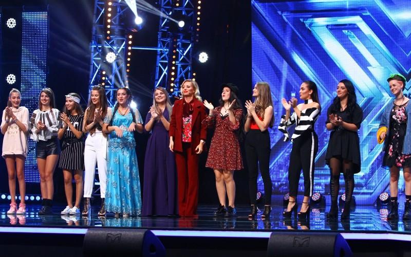 Grupa de fete a Deliei intră în Bootcamp la X Factor. Doar 4 au noroc!