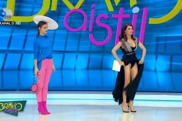 Ilinca Vandici, vedetă în presa străină după ce şi-a arătat părţile intime, în direct la tv  – VIDEO