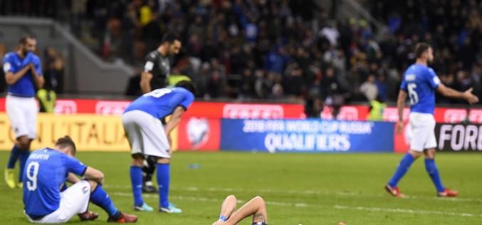 Cutremur în fotbalul internaţional. Italia a ratat calificarea la Mondiale!
