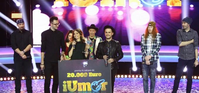 """Ana Maria Calița a câștigat sezonul patru al emisiunii """"iUmor"""" de la Antena 1"""