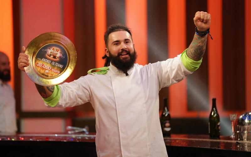 Andrei Olteanu, marele câștigător al sezonului 4, Chefi la cuțite