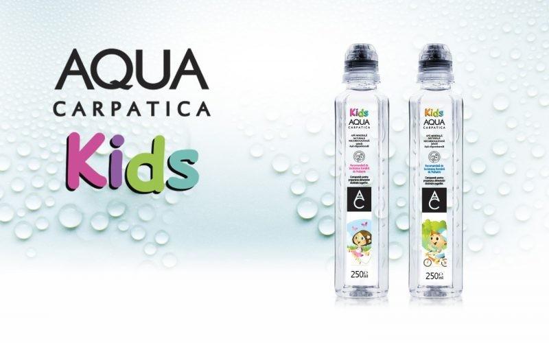 Cadoul Aqua pentru copii în prag de sărbători: AQUA Carpatica Kids!