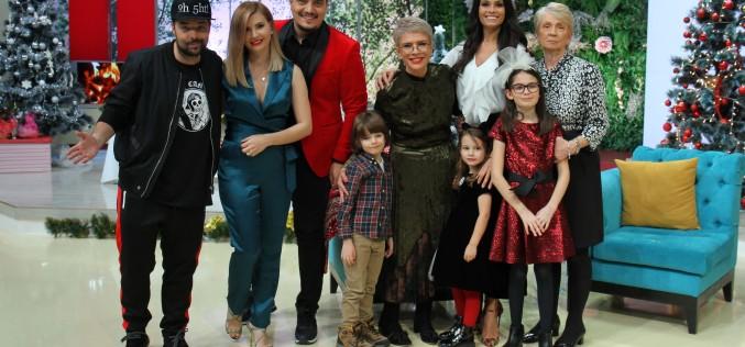 Kanal D a pregătit o ediţie specială de Crăciun a emisiunii Teo Show
