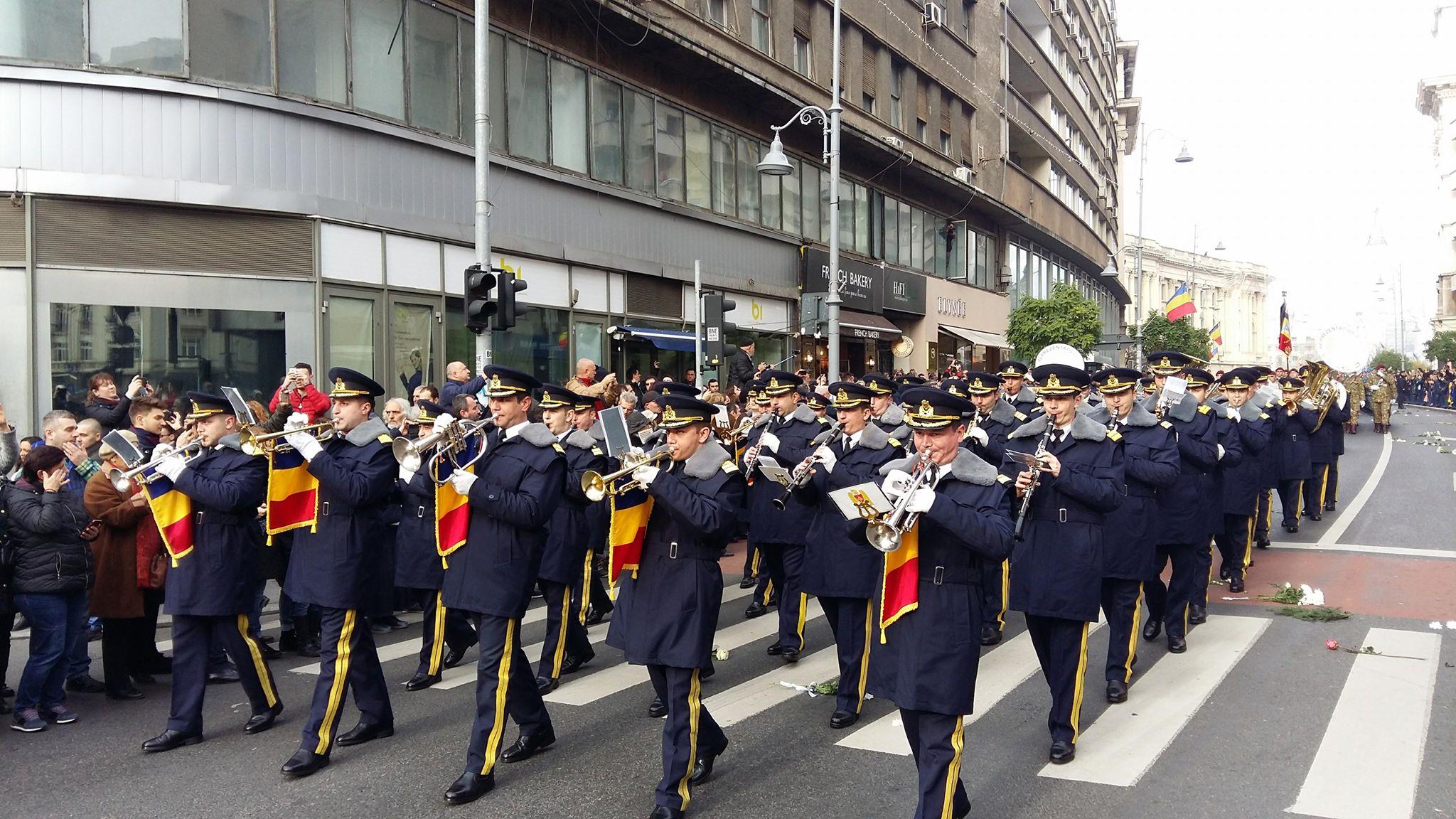 fanfara militara funeralii regele mihai