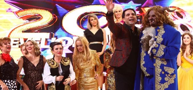 Secretele măștilor de la Revelionul Starurilor 2018 de la Antena 1