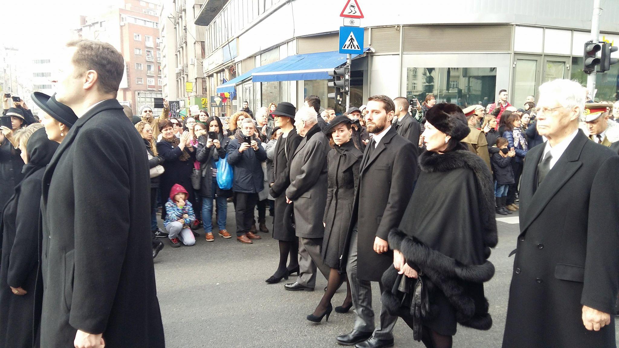 principele nicolae funeralii rege