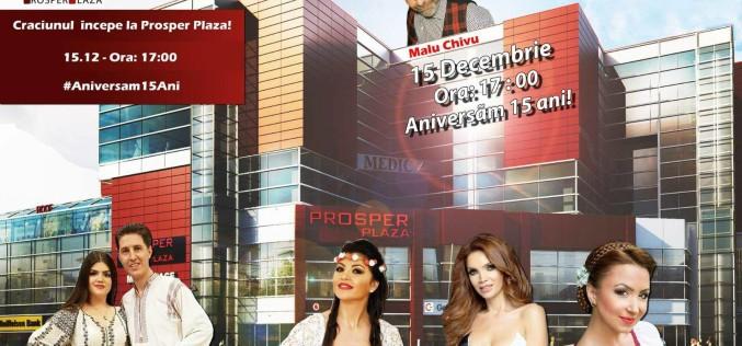 Cei mai tari artiști din România dau startul Crăciunului, la Prosper Plaza