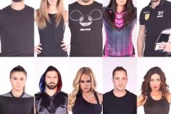 Cele zece vedete care vor evolua în show-ul Exalton, îmbarcaţi în avionul care i-a dus în Republica Dominicană