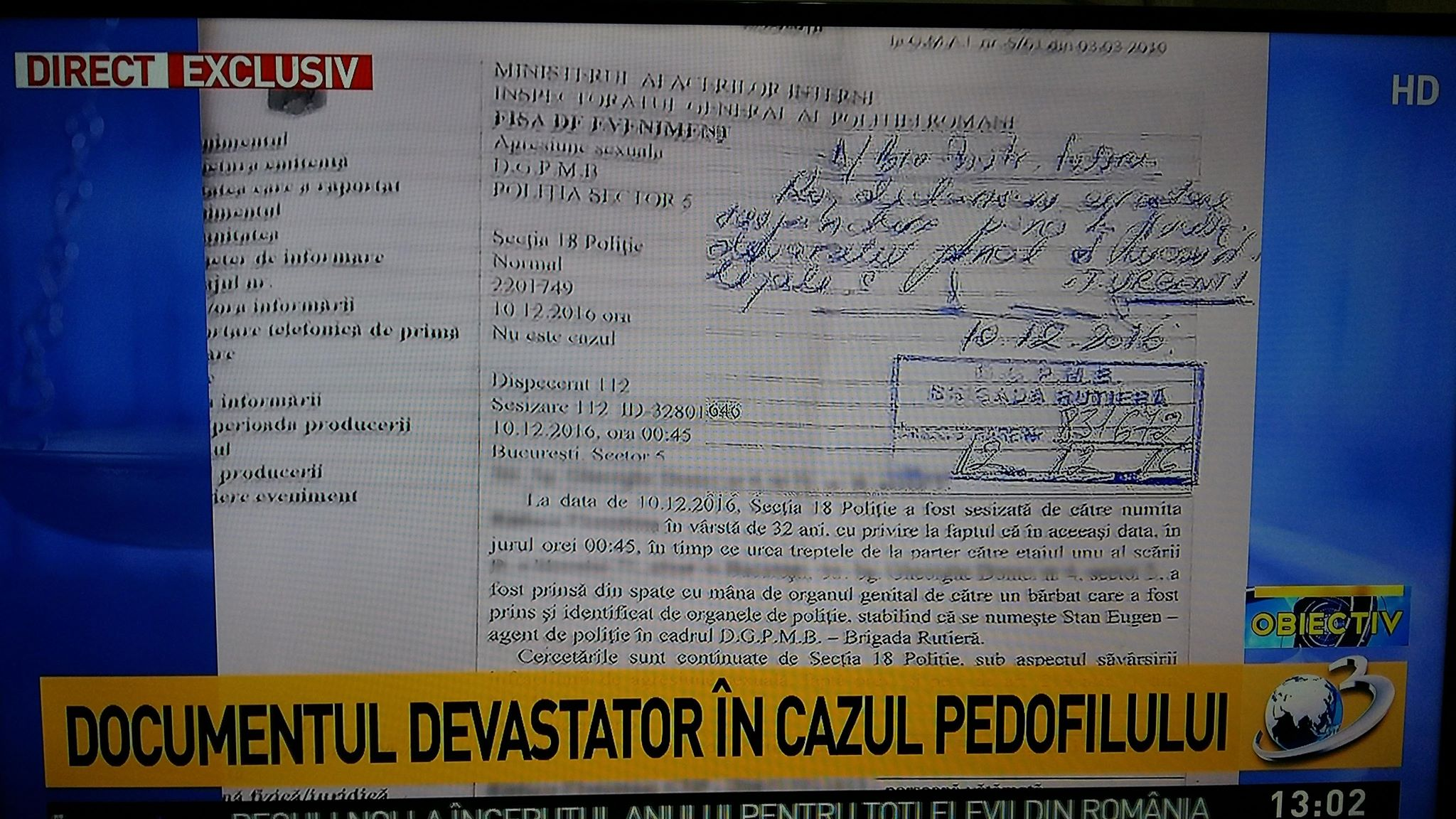 document exploziv pedofil