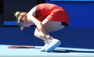 halep accidentare australian open